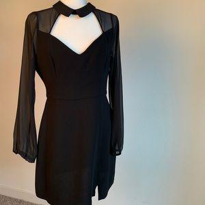 BCBGeneration NWT • cocktail dress • black • size6